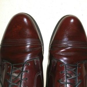 Florsheim Shoes - FLORSHEIM Mens Leather dress Shoes Oxford Burgundy
